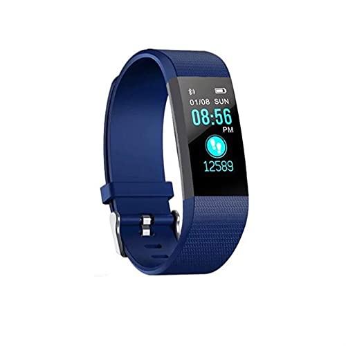 YQCH Fitness Tracker Smart Watch IP67 Pedómetro Impermeable Actividad Bluetooth Pulsera con Monitor de Sueño Deportes Pulsera Calorías Pista SMS/Llamada Recuerde para Mujeres y Hombres Niños