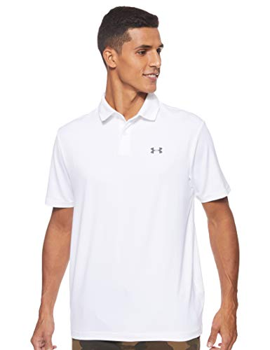 Under Armour Performance Polo 2.0 Chemise Homme, Blanco (100)-LG