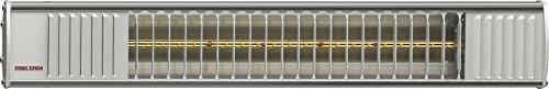Stiebel Eltron Heizstrahler IA 2054 Extreme, Infrarot, Direktheizgerätfür den Außenbereich, Aluminium, steckerfertig, 233882, Silber