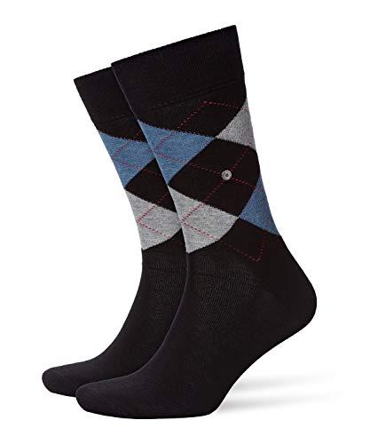 Burlington Herren King M SO Socken, Blickdicht, Schwarz (Black 3001), 40-46