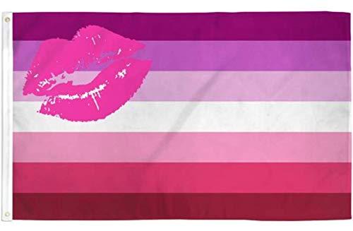 Jasper Merchandise Lipstick Lesbian Flag