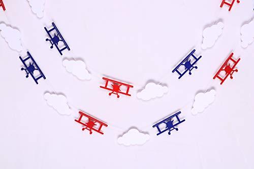 Vintage Airplane and Cloud - Birthday Decorations,Party Decorations,Party décor,Creative Decoration