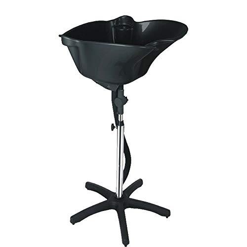 Portable Shampoo Hairdresser Hairdressing Back Workstation Basin Salon Deep Shampoo Basin Sink(Large lightweight plastic wash basin)