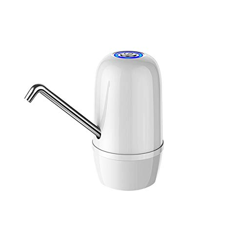 SCDSRQ Dispensador de Bomba automático eléctrico de Carga rápida USB Botella de Motor Doble Agua Potable para Oficina de Piedra