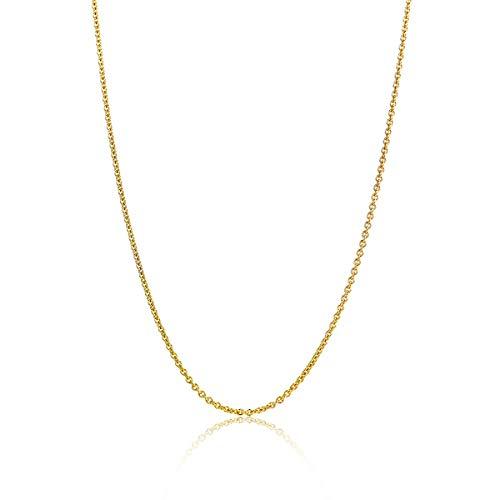Miore ketting uit 14 karaat 585/1000 geelgoud anker schakel met lengte 45 cm