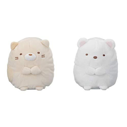 Sumikko Gurashi Nonviri Manekko Cat & Sumikko Gurashi Nobiri Manekko Shirokuma [Set Purchase]