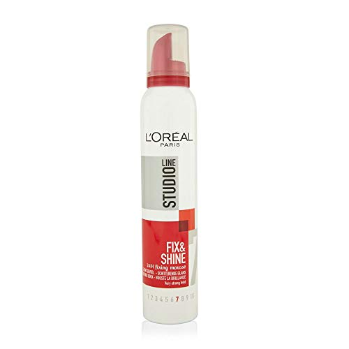 L'Oreal Studio Line Fix and Style Fixing Mousse - 200ML