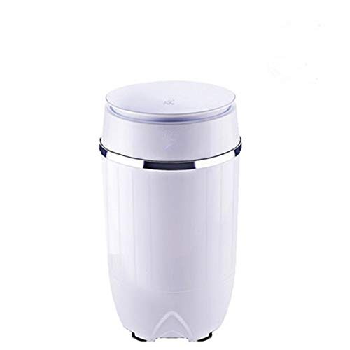 LLDKA Depuradores Secadora portátil Compacto centrífuga con Flexible, Wash Capacidad de 3,5 kg de Capacidad E Secado 1,5 kg,Blanco