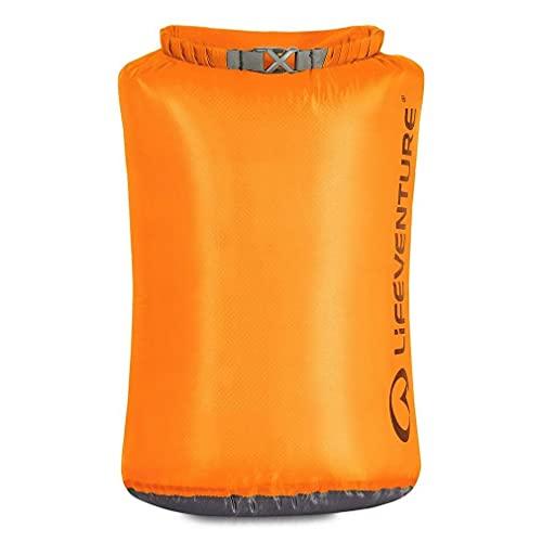 Lifeventure 59640 Ultralight Dry Bag-15L Unisex-Adult, Orange