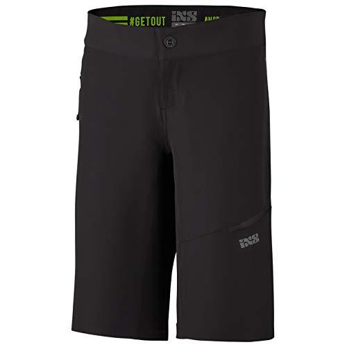 IXS Unisex Damen Mountainbike Shorts Carve EVO, Schwarz, 36, IX-SHO-0680 Boardshorts, Black