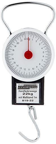 Mannesmann 819-22Federwaage bis 22kg, mit Maßband