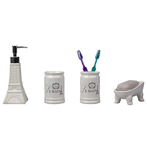 La mejor selección de Accesorios para baño de ceramica , tabla con los diez mejores. 13