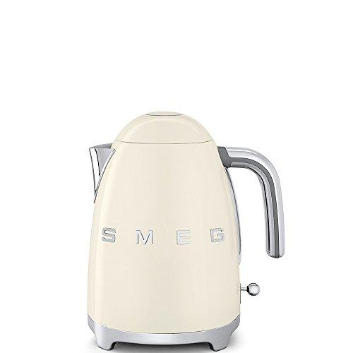 Smeg KLF03CREU bouilloire électrique, Métal, 1.7 liters, Crème