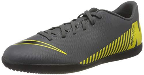 Nike Herren MercurialX Vapor XII Club Fußballschuhe, Grau (Dark Grey/Black-Opti Yellow 070), 43 EU