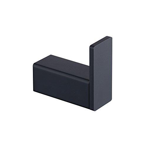 Toalla / gancho para baño, cocina, garaje, montaje en la pared, acero inoxidable SUS 304, negro, abeja, BA8506B