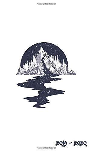 2019 - 2020: Two Year Monthly Pocket Planner | Mountain River Galaxy (Tattoo Art, Band 4)