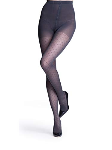 SIGVARIS Women's Style Patterns 710 Closed Toe Pantyhose 20-30mmHg