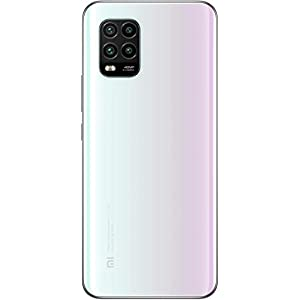 "Xiaomi Mi 10 Lite (Pantalla AMOLED 6.57"", TrueColor, 6GB+128GB, Camara de 48MP, Snapdragon 765G, 5G, 4160mah con Carga 20W, Android 10) Blanco"