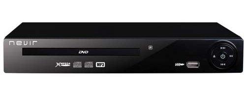 Nevir NVR-2324 - Reproductor de DVD (USB-R), negro
