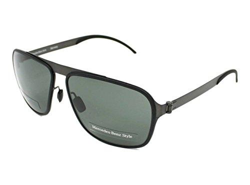Mercedes-Benz Sonnenbrille M1043 Gafas de sol, Morado (Violeta), 64.0 para Hombre