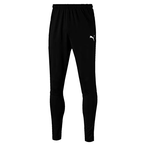 PUMA Herren Liga Training Pants Pro Jogginghose, Black White, M