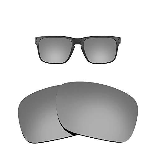 FOOUS - Lentes polarizadas de repuesto para gafas de sol Oakley Holbrook, color azul