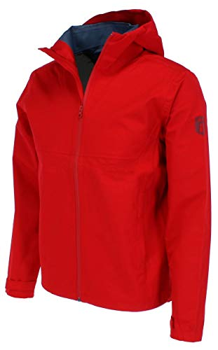 derbe Herren Regenjacke Future Boys Racing red rot - M