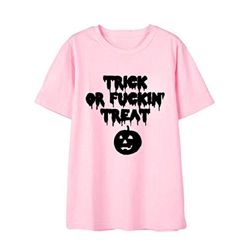Keep Calm und Gib Mir Candy Halloween Party Damen Kostüm T-Shirt