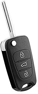Rubik 3 Button Replacement Uncut Keyless Entry Remote Control Car Key Fob Shell Case For KIA Rio, Rio K2, Rondo, Soul, Spo...