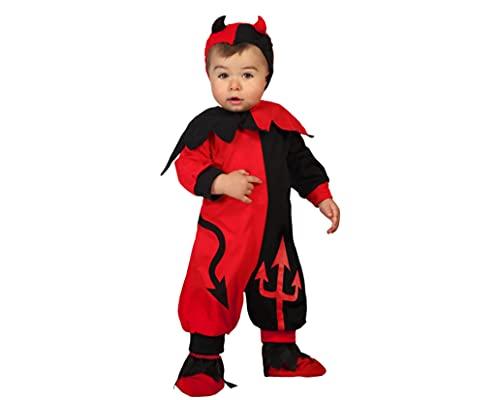 Atosa -22722 Costume da diavolo, colore: rosso, 12-24 mesi (22722)