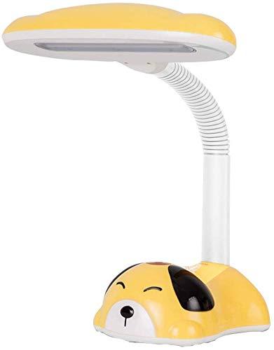 Beautiful Home Decoration Lamps 7W LED Tischlampe Noten-Schalter DREI-Stufen Dimmung Leselampe Cartoon Design Kinderschreibtischleuchten mit Piggy Bank Eye Study Lampen 4000K Neutral Licht