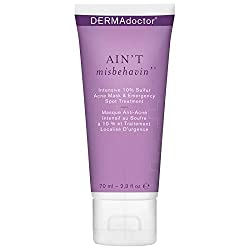cheap DERMAdoctor is a 10% sulfur acne intensive mask that treats with an emergency spot, 2.3 ounces of fluid