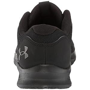 Under Armour Women's Shadow Running Shoe, Black (002)/Black, 8