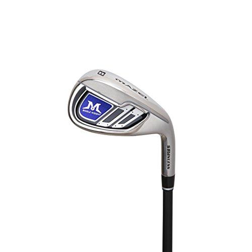 MAZEL Single Length Golf Club Irons Set 4-SW(9 Pieces) (Right, Graphite, Regular(R))