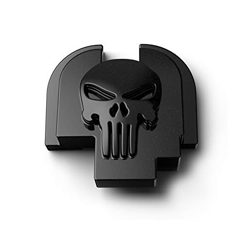 MakerShot 3D Aluminum Slide Cover Plate Compatible with Springfield XDs 9 40 45 (Punisher Skull)