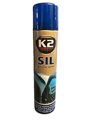 RAE K2 Professional Silicone silikon Siliconico Lubrificante Spray 300 ML