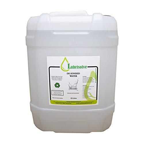 Bidón de agua desmineralizada / desionizada 20 litros