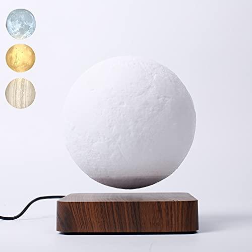 Lámpara De Luna De Equilibrio 3D, Júpiter Suspendido, Tiene 3 Modos De Colores(Júpiter/Mares/Luna)Para Regalos Sorpresa/Decoración De La Habitación/Luz De Noche/Juguetes De Escritorio De Oficina