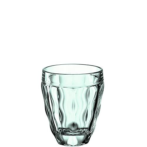 LEONARDO HOME WH Brindisi - Vaso (270 ml), color verde, Cristal
