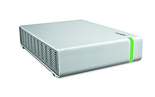 "Rocstor CommanderX EC31 1TB SSD 3.5"" Encrypted External Hard Drive USB 3.1/3.0, Silver (C280KK-01)"