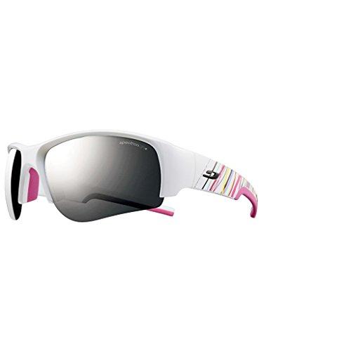 Julbo Dust SP3 + Sonnenbrille, Herren, Dust Sp3+ M Weiss/Fuchsia