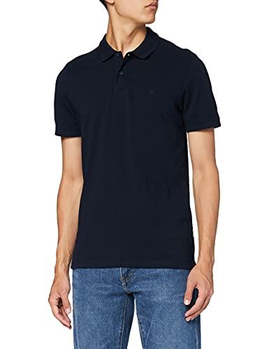 Jack & Jones Jjebasic Polo SS Noos - Camiseta para Hombre, Azul (Navy Blazer), Talla L