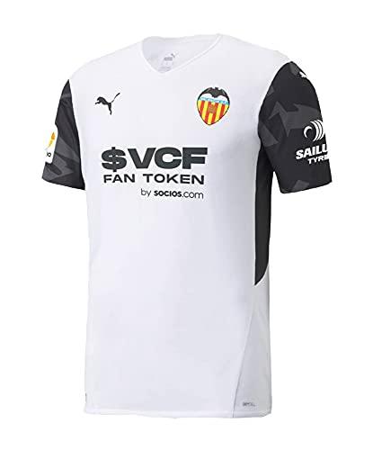 Puma - Valencia Temporada 2021/22 Camiseta Primera Equipación, Unisex