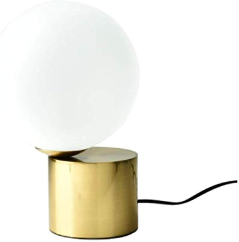 Led Tischleuchte Schreibtischlampe Leselampetischlampe Kreative Persnlichkeit Einfache Glaskugel Wohnzimmer Studie Schlafzimmer