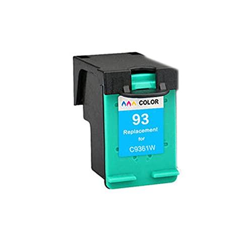 Toner Compatible para HP 92 93XL Reemplazo de Cartucho para HP DeskJet 5420 5432 5440 5442 5443 OfficeJet 6300 6310 6310xi Impresora Tinta de Tinta Unidad de Tambor, Color