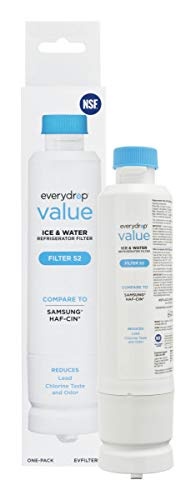 EveryDrop EVFILTERS2 Value by Whirlpool, Replacement for Samsung DA29-00020B Refrigerator Water Filter, EVFILTERS1 (Pack of 1), 1 Pack