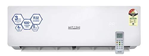 Mitashi 1 Ton 3 Star Inverter Split Air Conditioner (Copper MiSAC103INv45 White)