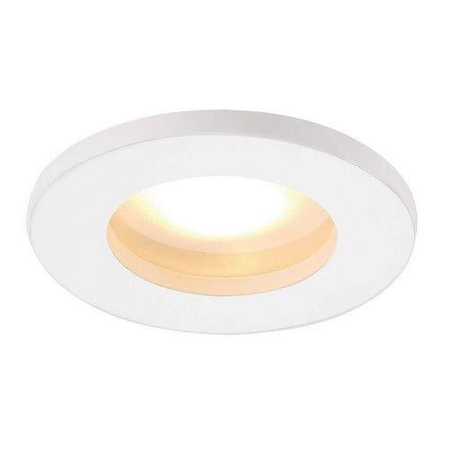 SLV LED Einbaustrahler DOLIX OUT zur Decken-Beleuchtung innen| LED Spot, Einbau-Leuchte, Deckenstrahler Flur, Wohnzimmer, Küche, LED Deckenleuchte Badezimmer-geeignet | GU5.3, max. 50W, EEK C-A+, IP65