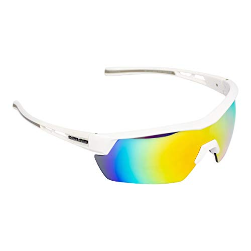 Rawlings Sport Youth Baseball Sunglasses - Lightweight, Stylish Sunglasses Designed for Comfort & 100% UV Protection, Perfect for Softball, Running, Cycling (Durable Plastic Frame - Girls or Boys Fit)