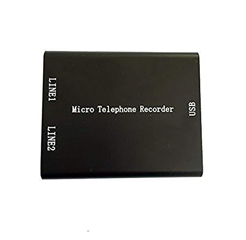 Mini Grabadora Analógica de Voz para Teléfono, Grabadora de Voz de Tarjeta microSD, Super Mini Grabadora USB de Teléfono con memoria incorporada de 8GB